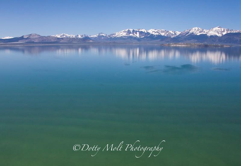 Mono Lake Reflections Horizontal