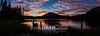 Lake Mary Sunset, Mammoth Lakes, CA