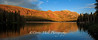 Lake Mary Sunset Reflections facing East, Mammoth Lake, CA