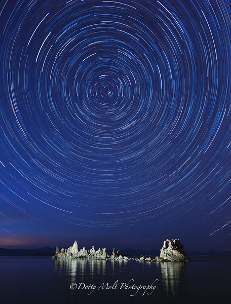 Centrifugal  Mono Lake Star Trails