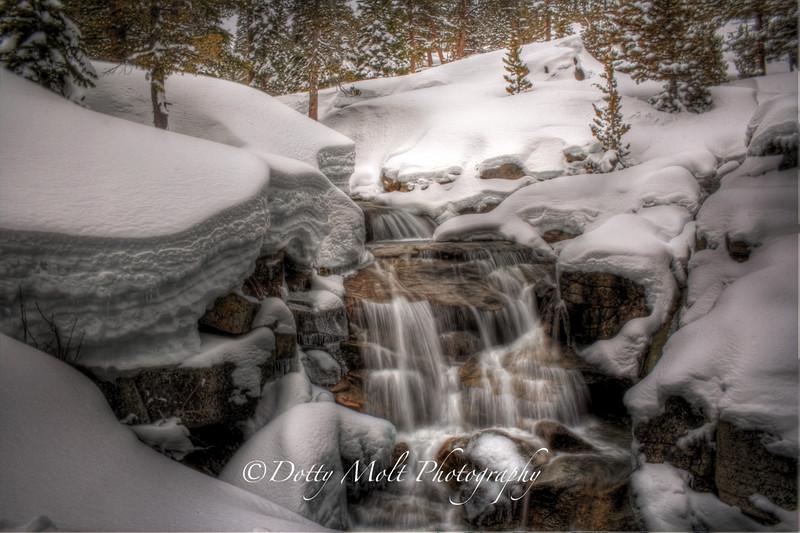 Shirley Lake Falls