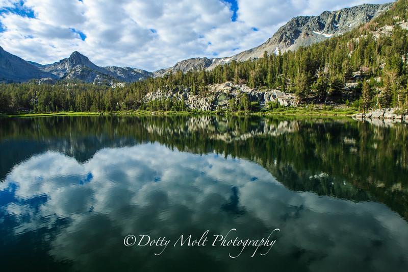 Skeleton Lake Reflections, Mammoth Lakes, CA
