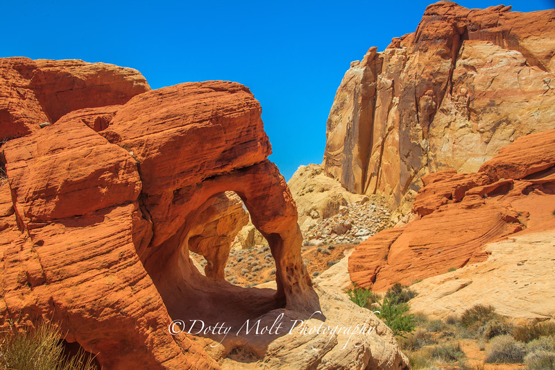 Valley of Fire, Arches