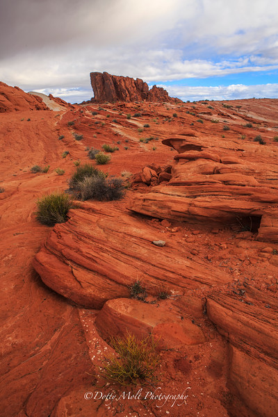 Valley of Fire Castle Rock