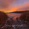 Washoe Lake Icy Sunrise