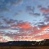 Sunrise over Washoe Lake