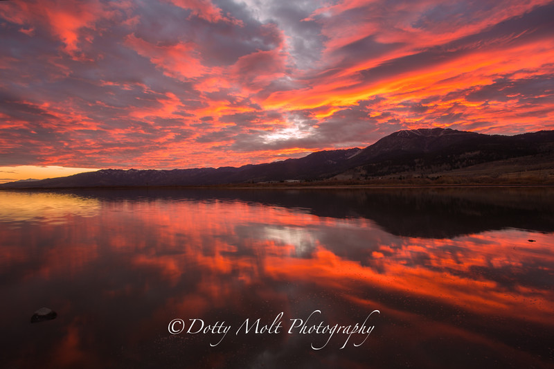 Five Star Alarm Sunset over Washoe Valley