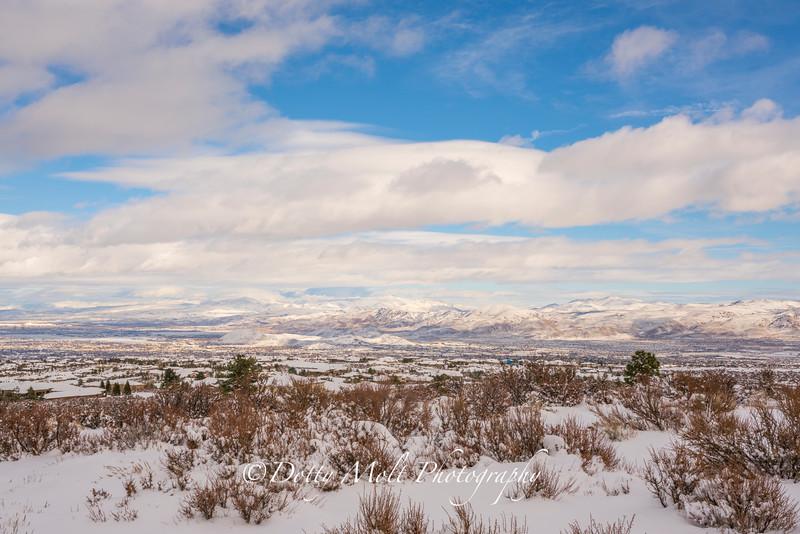 Snow in Reno