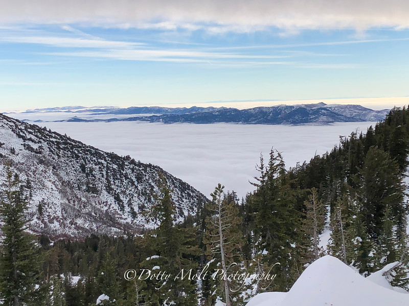 Inversion over Washoe Valley
