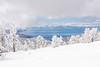 Winter over Tahoe