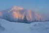 Mt. Rose Sunrise fog