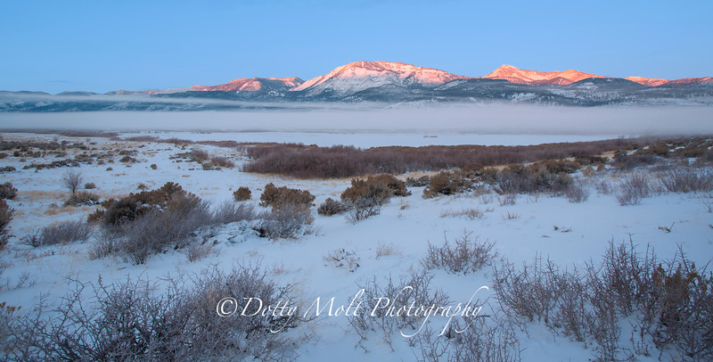 Fog at Sunrise, Washoe Valley, NV