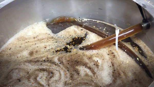 Double Nut Brown Brew Day 4-12-15