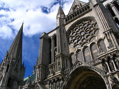 Cathedrale Chartres 9 C-Mouton