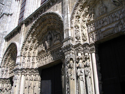 Cathedrale Chartres 6 C-Mouton