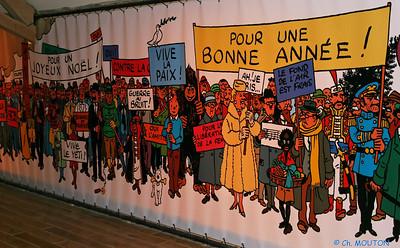 Tintin Cheverny 3 C-Mouton