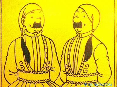 Tintin 12 C-Mouton