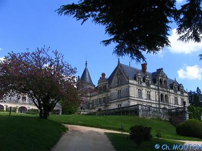 Chateau de la Bourdaisière 36 C-Mouton
