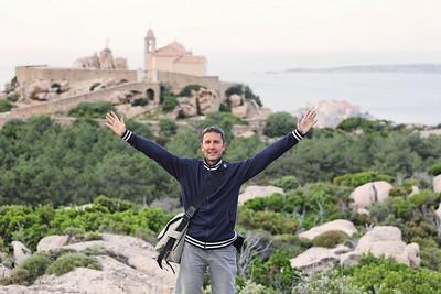Au dessus de Calvi (Corse)