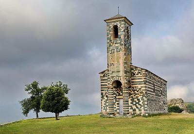 Eglise San Michele de Murato - Corse