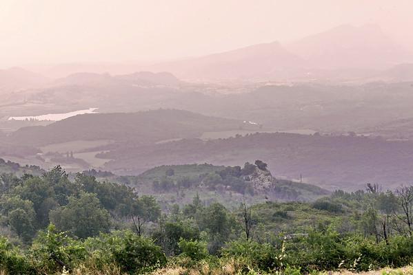 Sur la route de San Michele di Murato (Corse - Balagne)