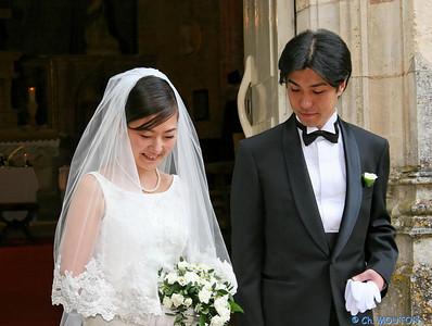 Mariage japonais La Verrerie 3151 C-Mouton