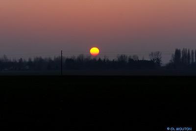 Coucher de soleil Fourneaux 40 C-Mouton