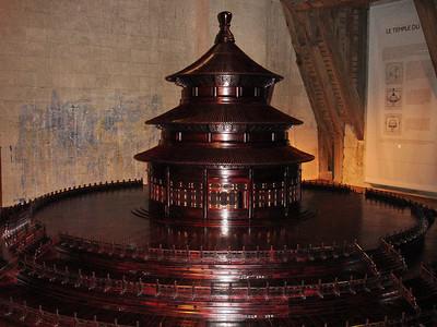 Maquette temple du ciel Chambord 106 C-Mouton