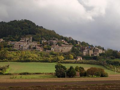 Le village de la Bégude-de-Mazenc