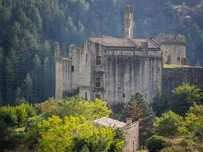Ruines du château de Boulogne