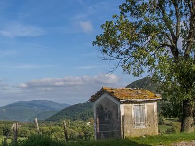 Campagne près du col de l'Arénier, entre Privas et Aubenas