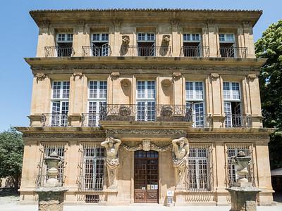 La majestueuse façade du Pavillon Vendôme
