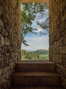 Andy Goldsmurphy : Oak Room (paysage vu depuis l'entrée)