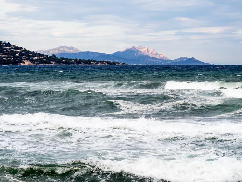 Coup de vent d'Est sur la côte varoise