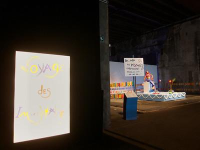 Expo à la base sous-marine - Bordeaux