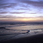 Kalaloch Beach, WA - We were treated to one of the most spectacular sunsets I have ever seen while we were down there. It was great watching the sun go down, changing the paint scheme of everything around us as it dipped into the horizon.