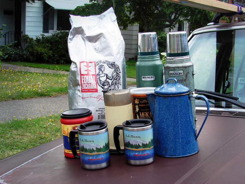 Necessities for Seattle campers.<br /> <br /> -(dwmckeehen)