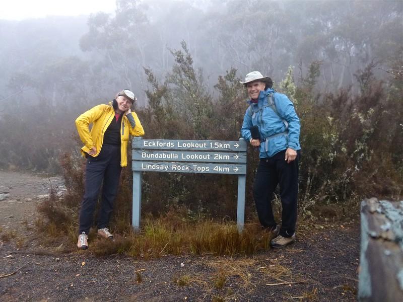 At Mount Kaputar