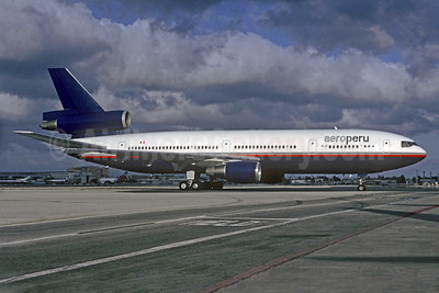 AeroPeru (1st) (Canadian Airlines International) McDonnell Douglas DC-10-30 C-FCRD (msn 47889) (Canadian colors) MIA (Christian Volpati Collection). Image: 931665.