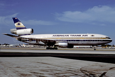 American Trans Air-ATA McDonnell Douglas DC-10-10 N183AT (msn 46501) MIA (Bruce Drum). Image: 102557.