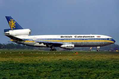 British Caledonian Airways McDonnell Douglas DC-10-30 G-NIUK (msn 46932) LGW (SM Fitzwilliams Collection). Image: 911939.