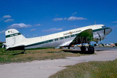 AeroMaya Douglas DC-3A-228C XA-CAG (msn 2228) (Jacques Guillem Collection). Image: 950643.