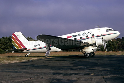Air New England Douglas DST-A-207 (DC-3A) N18105 (msn 1953) HYA (Bruce Drum). Image: 103349.