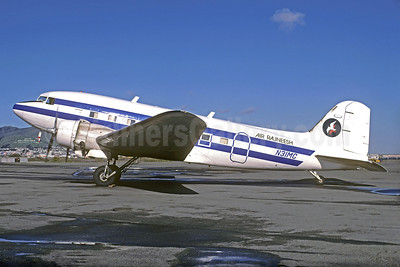 Air Rajneesh Douglas C-47-DL (DC-3C) N31MC (msn 6148) SFO (Christian Volpati Collection). Image: 928816.
