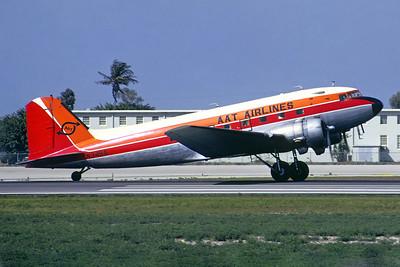 AAT Airlines Douglas C-47A-DL (DC-3) N345A (msn 9397) MIA (Bo-Goran Lundkvist - Christian Volpati Collection). Image: 946182.