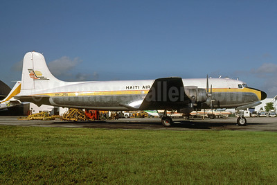 Haiti Air Freight Douglas C-54G-DO (DC-4) HH-JMA (msn 35955) MIA (Bruce Drum). Image: 103982.