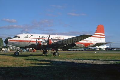 LANICA Airlines (Lineas Aereas de Nicaragua) Douglas C-54B-1-DC (DC-4) AN-AWK (msn 10541) MIA (Bruce Drum). Image: 103822.