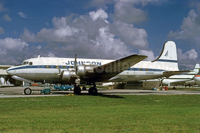 Johnson Flying Service Douglas C-54B-1-DC (DC-4) N88890 (msn 10481) MIA (Bruce Drum). Image: 103053.
