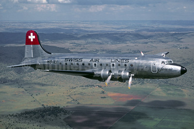 Swiss Air Lines-Swissair Douglas DC-4-1009 HB-ILI (msn 43097) (Jackques Guillem Collection). Image: 913148.
