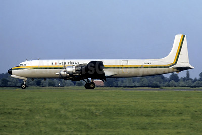 """""""City of Limerick"""", damaged beyond repair on landing at London Luton on March 3, 1974"""